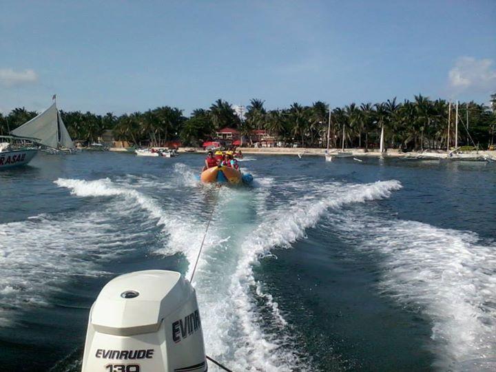Banana Boat boracay, boracay, banana boat,