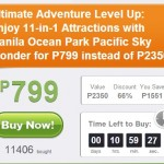Best Deals!!! 66% Off @ Manila Ocean Park 11 Attractions in 1