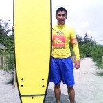 Surfing @ Crystal Beach Resort, Zambales